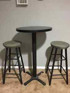 High Table and Bar stool set. $40 OBO