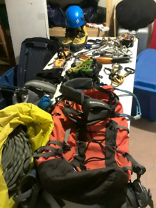 Ice and rock climbing gear