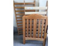 Cot with missing screws £10