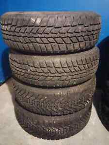 2 sets of winter wheels for sale London Ontario image 1