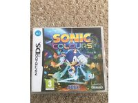 Nintendo ds game sonic colour