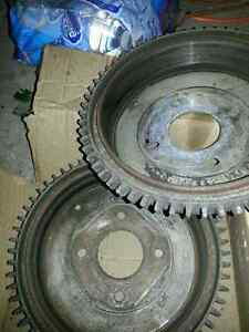 Datsun 280z brake drums and shoes $100 slightly used but good to