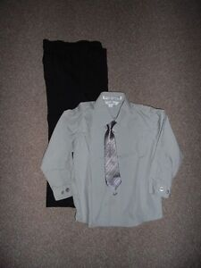 Boy's Dress Shirt, Tie, Pants Size 3 & Size 3X Clothing