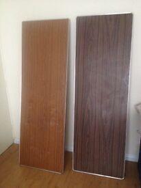 2 folding tables - 2ft x 6ft
