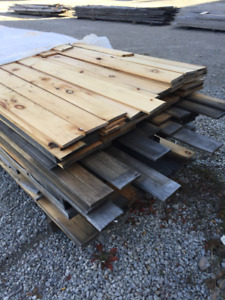 PINE WOOD PILES- LUMBER CLEAROUT