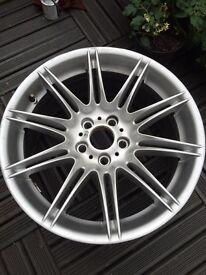 "2 x Bmw Rear Mv4 19"" Alloy wheels 9J"