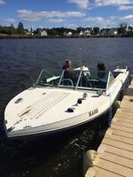 18 ft doral  115 hp merc and easy load trailer
