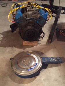Ford 351C (Cleveland) air cleaner OEM complete.