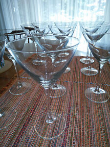 Martini glasses from IKEA Kitchener / Waterloo Kitchener Area image 2