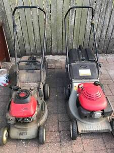 2 x Mowers - MUST BE SOLD!!! Cooks Hill Newcastle Area Preview