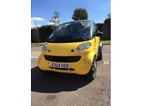 Smart Car Pure 2000 LHD 12 months MOT