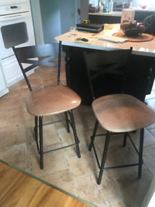 Tabourets super condition bar stools