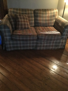 Loveseat, Chair and Ottoman - Moving Sale