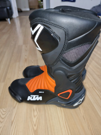 Ktm Alpinestars Motorcycle Boots Size 10