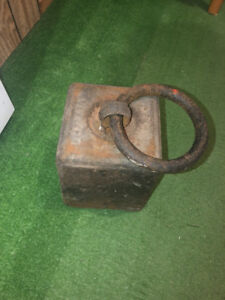 Antique horse ring to tether horses