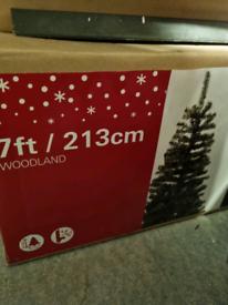 7' Artificial Christmas Tree