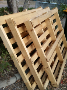 3 timber pallets