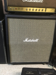 Marshall 1960TV Cab with Eminence Private Jacks
