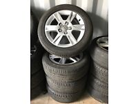 "16"" alloy wheels alloys rims tyre tyres Audi seat skoda Vw Volkswagen 5x112"
