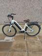Woman's electric bike