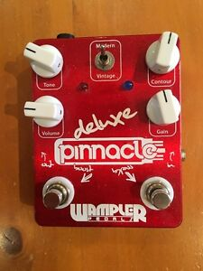 Wampler Deluxe Pinnacle (Overdrive & Distortion) Mint Condition