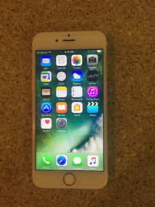 Unlocked 64gb iPhone 6 Rose Gold and White