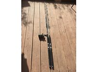 Boat fishing rods and reel for sale