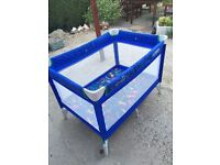 Fold up cot / Play pen.