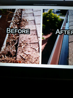 Gutter cleaning and maintenance services starting at $140