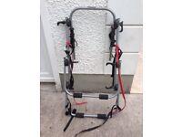 Car bicycle rack used