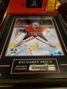 Cary price autographed picture