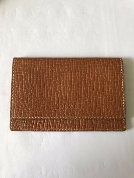 Authentic Loewe Name Card Holder