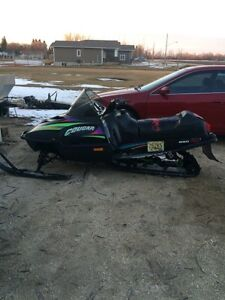 Trade my sled for SUV, or truck