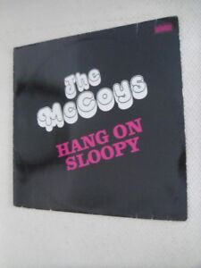 1966-THE McCOYS-Hang On Sloopy-Import LP Record Album.