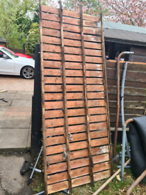 Scrap wood from shed