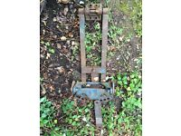 Fordson major tractor drawbar