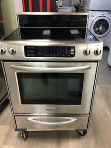 "30"" KITCHEN AID STAINLESS S CONVECTION STOVE"