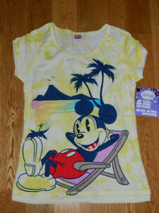 Disney Mickey Minnie Mouse & Tinkerbell Shirts