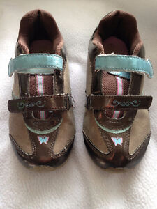 size 1 girl tinkerbell shoes
