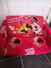 Disney Minnie Mouse childs sofa/bed