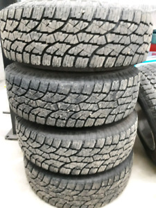 30x9.5 r15 all terrain tires and jeep rims