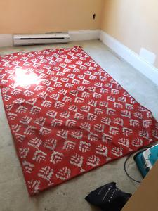 7×4' area rug