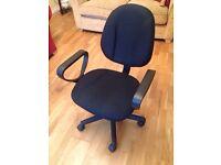 Black Office Swivel Chair