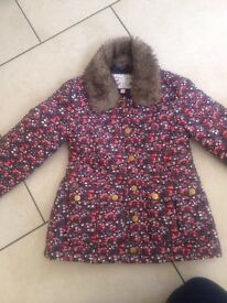 Girls m&s coat age 5-6