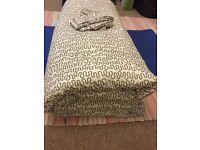 Spare bedding duvet + duvet cover + 2 pillowcases