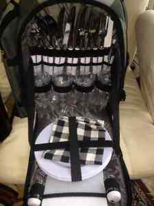 NEW!!! Picnic back pack includes: