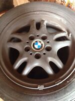 4 BlackMatte BMW rims