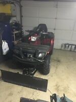 2008 Polaris sportsman plow