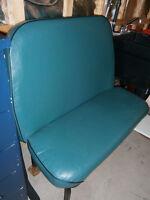 Bus bench seat vintage