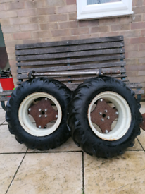 Rotorvator wheels